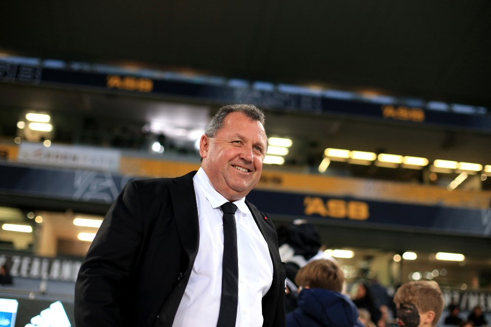 Ian Foster has penned a two-year extension with the All Blacks. Photo: Getty Images