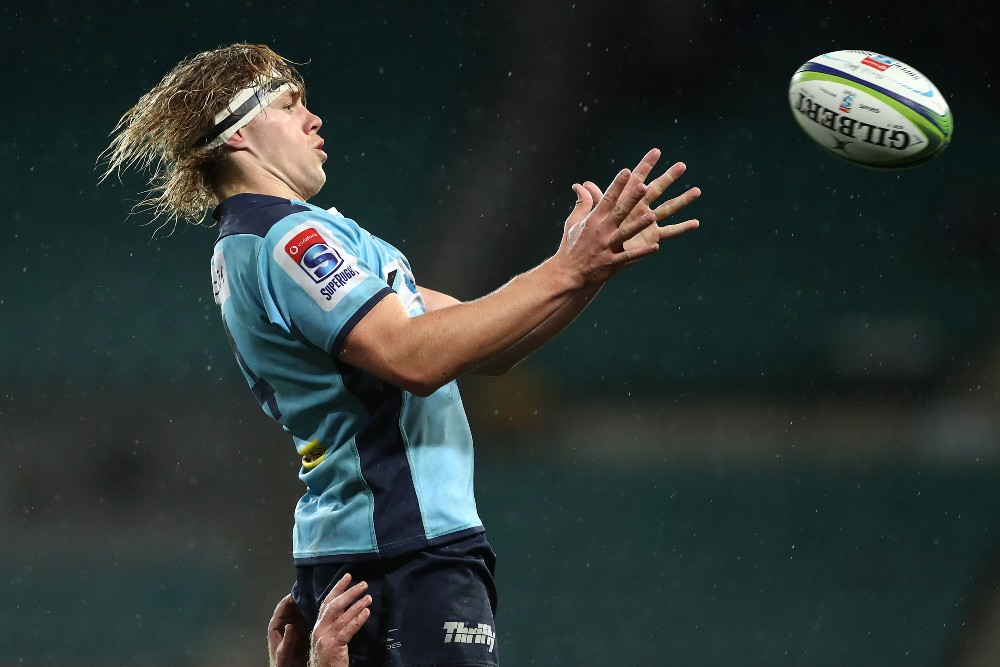 Ned Hanigan will return to the Waratahs in 2022. Photo: Getty Images