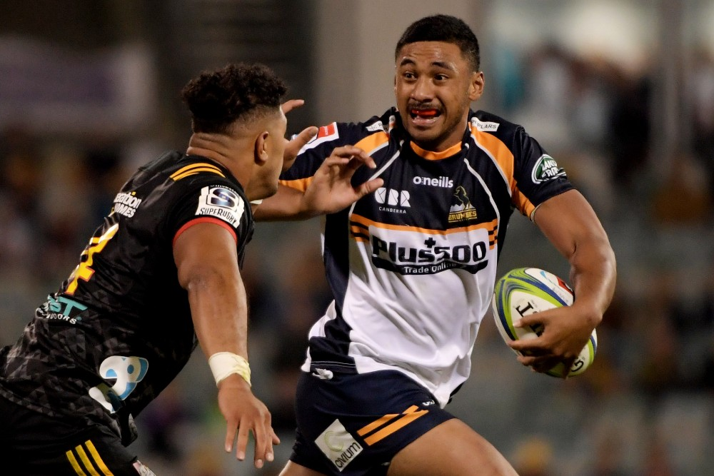 Irae Simone grew up wanting to play for the Wallabies despite coming from New Zealand. Photo: Getty Images