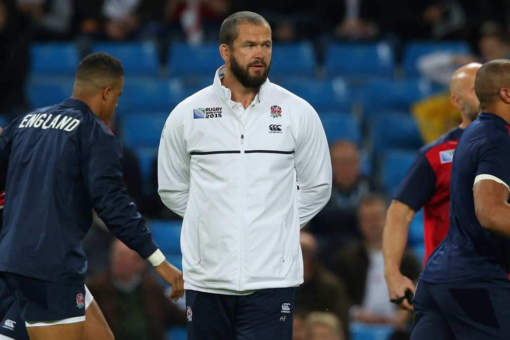 Andy Farrell used to be an England assistant. Photo: Getty Images