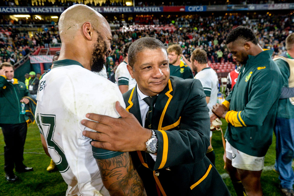 Allister Coetzee says the Springboks have to expand their winning ways. Photo: Getty Images