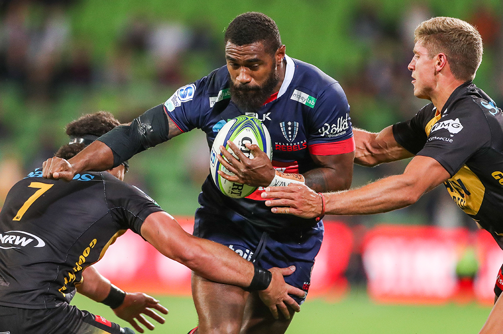 The Rebels will be looking to feed Marika Koroibete the ball throughout Super Rugby Trans-Tasman | Getty Images