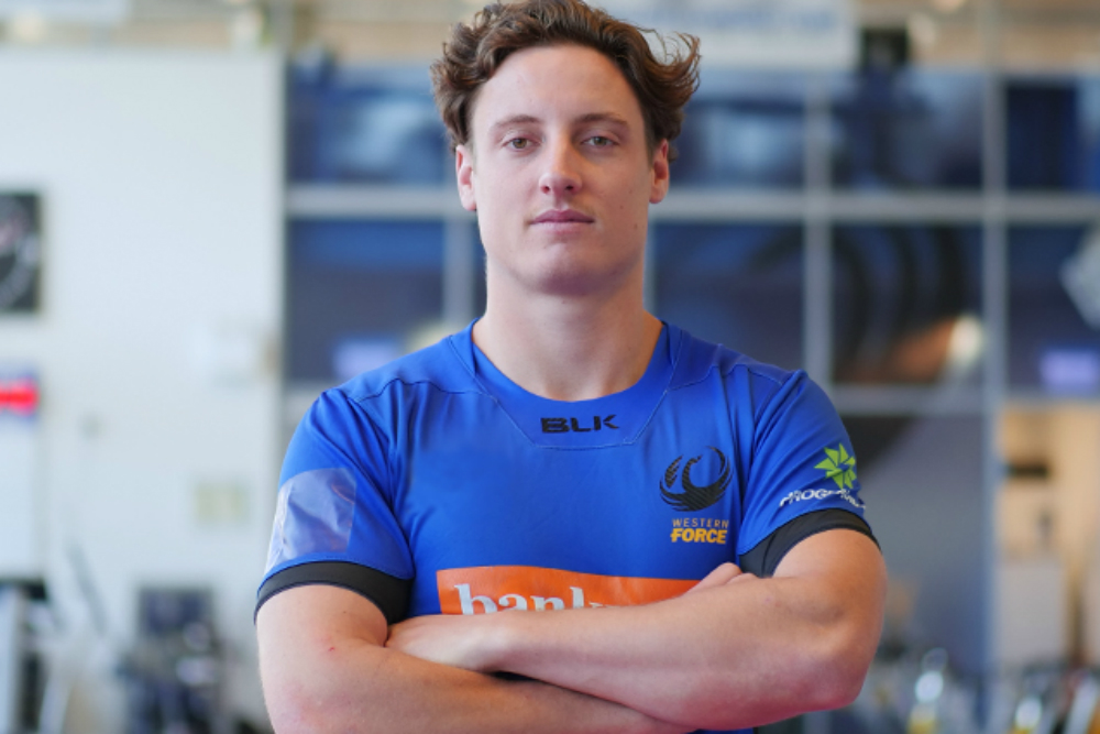Nick Jooste has signed with the Force. Photo: Western Force Media