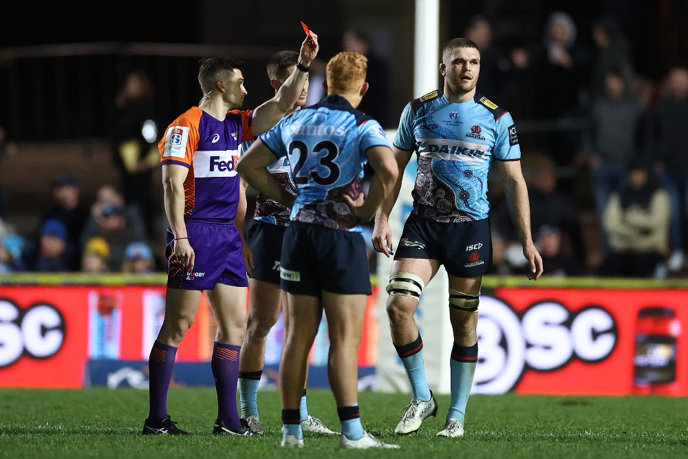 Lachie Swinton has been cleared of wrongdoing following his red card. Photo: Getty Images