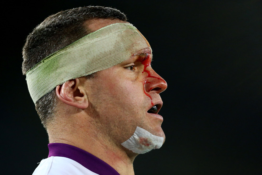 Jason Ryles during his Melbourne Storm days. Photo: Getty Images