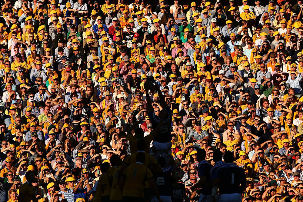 The Wallabies will be playing in the sun in 2017. Photo :Getty Images