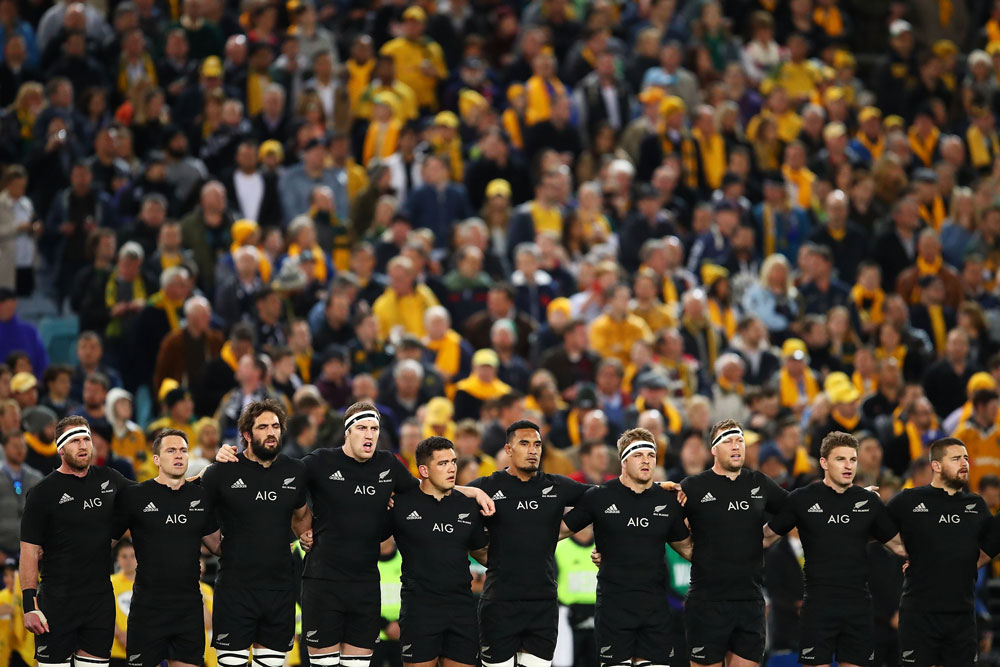 The All Blacks weren't flustered by Saturday's controversy. Photo: Getty Images