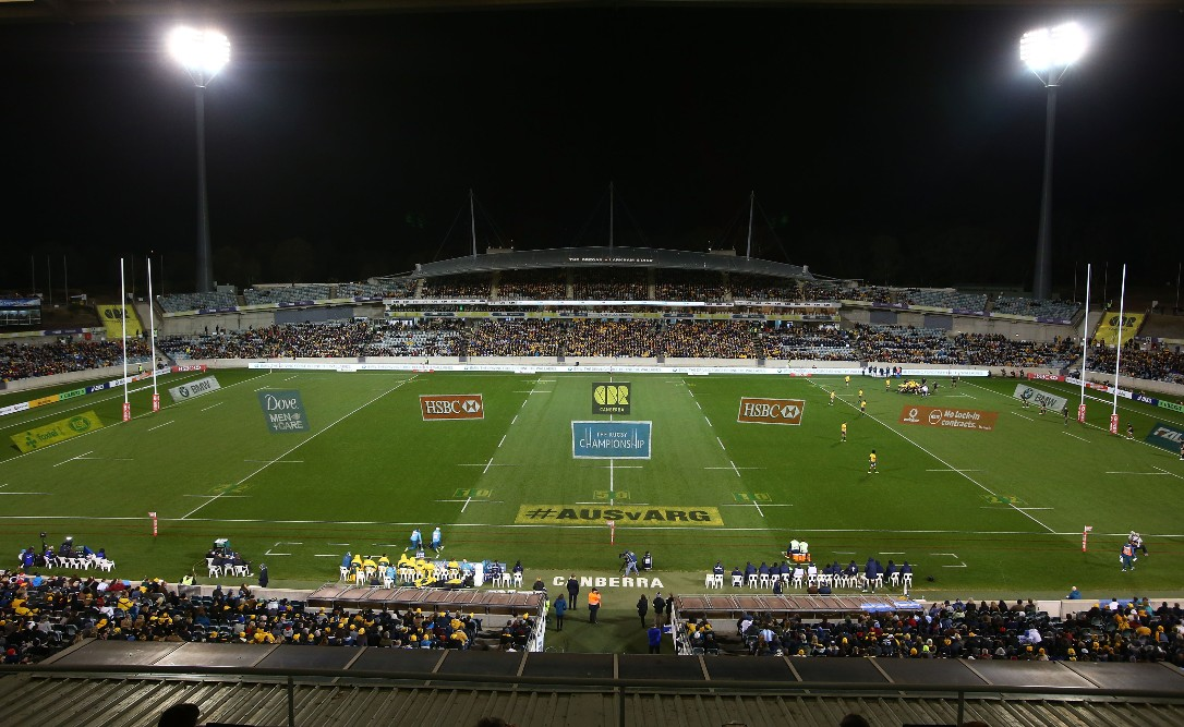 The Wallabies return to Canberra as part of The Rugby Championship. Photo: Getty Images