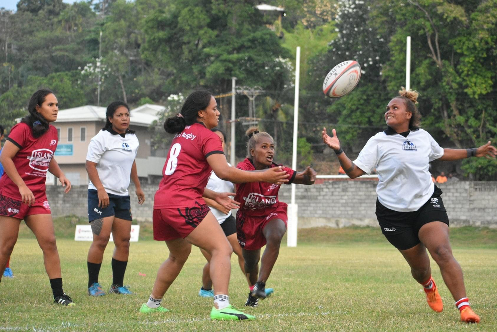 Solomon Islands Sevens Competition Semi final action between Diesel vs HHH (Image - Elton Lonaratha Jnr/SunSPORTS)