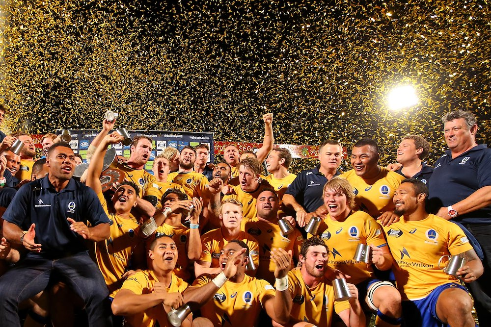 Back-to-back for Brisbane City. Photo: Getty Images