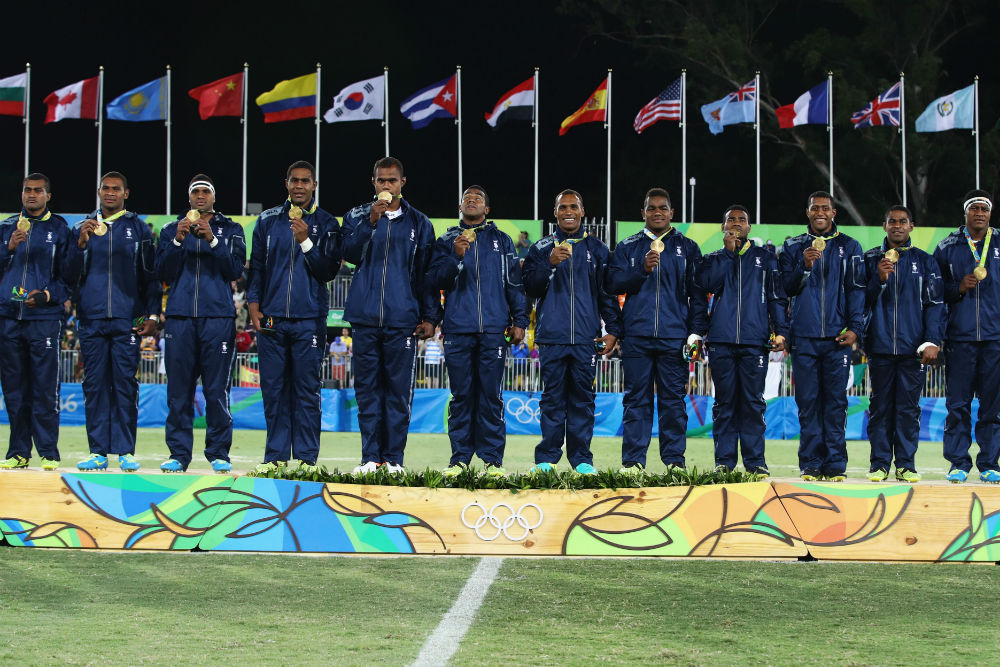 The Fijian government are issuing banknotes depicting Fiji's Rio celebrations. Photo: Getty Images