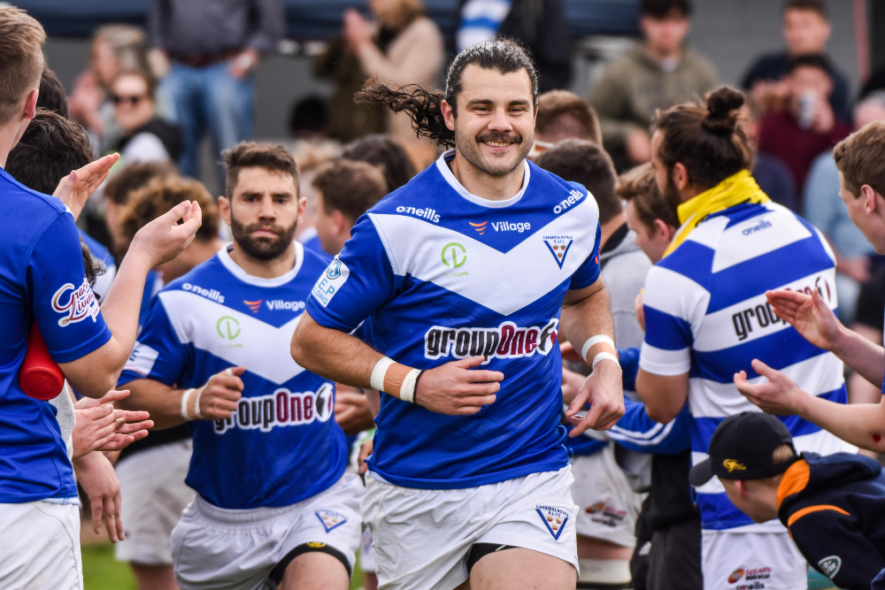 The Royals heading out for the Grand Final in 2020