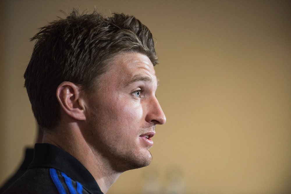 Beauden Barrett has been steering the All Blacks. Photo: Getty Images