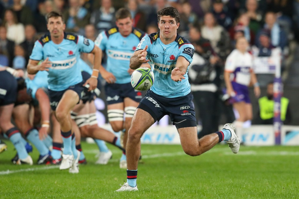 Ben Donaldson re-signs with Waratahs. Photo: Getty Images