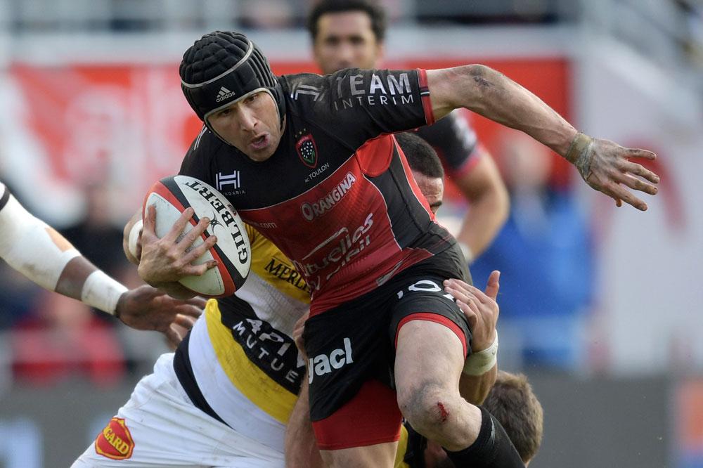 Matt Giteau will start for Toulon. Photo: AFP