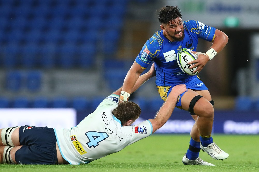 Henry Stowers in action for the Western Force. Photo: Getty Images