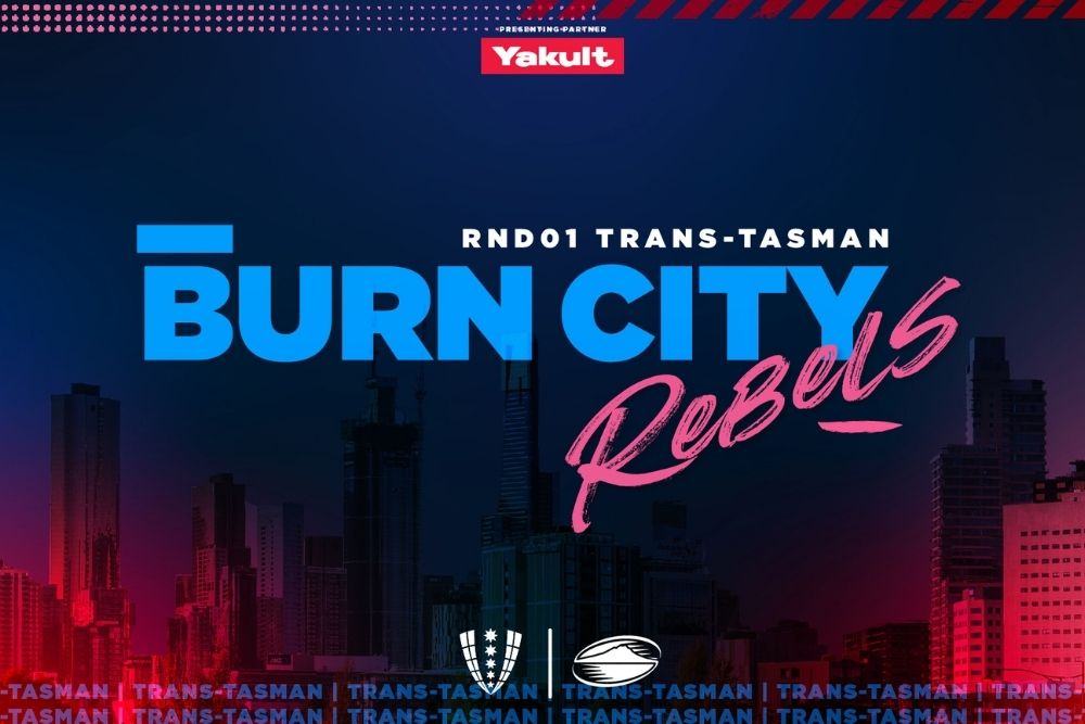 Program Cover Rebels vs Blues