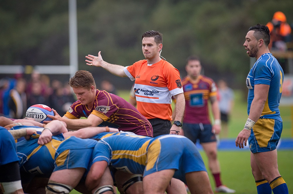 Cooper in action during Fortescue Premier Grade in Western Australia. Photo: RugbyWA