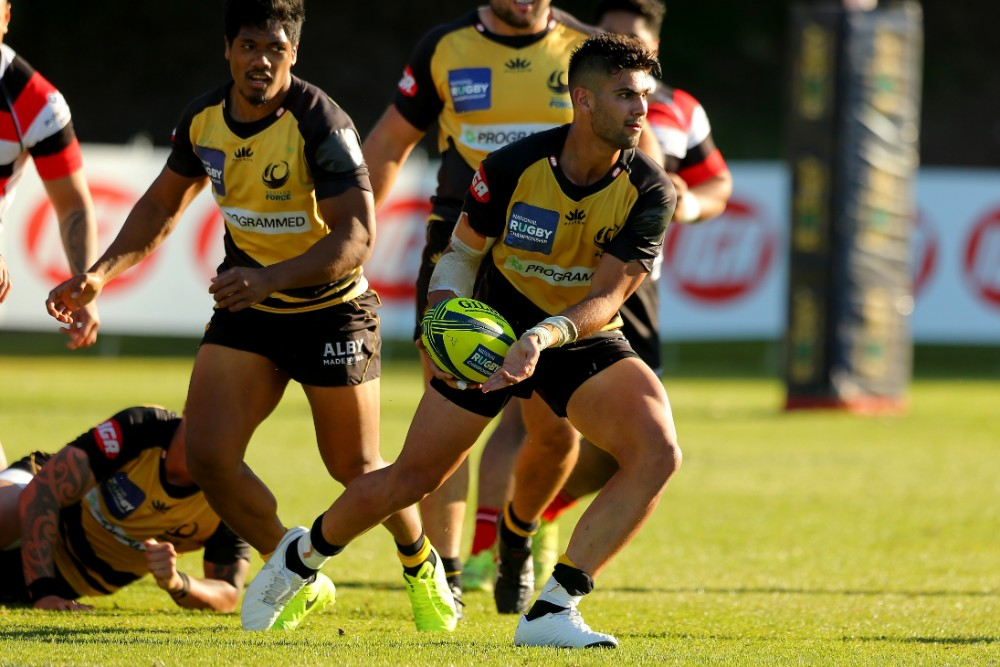Byron Ralston has taken his opportunity to develop in the West. Photo: Getty Images