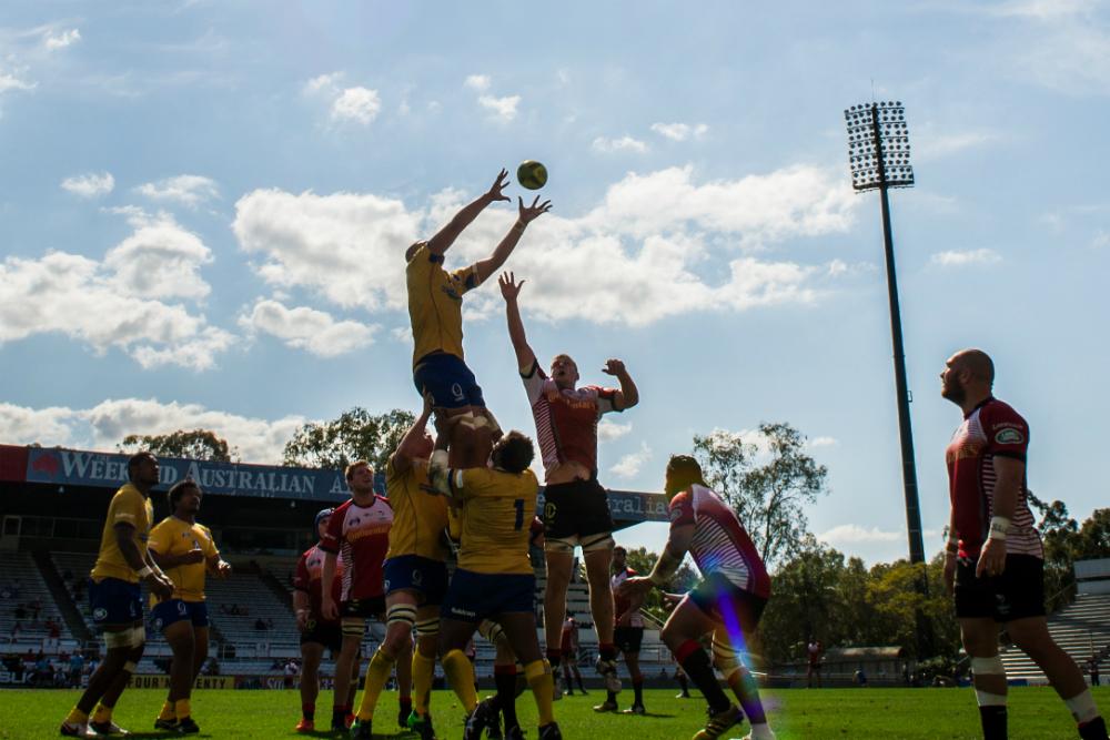 The Vikings got their 2015 grand-final redemption against Brisbane City. Photo: ARU Media/Stu Walmsley.