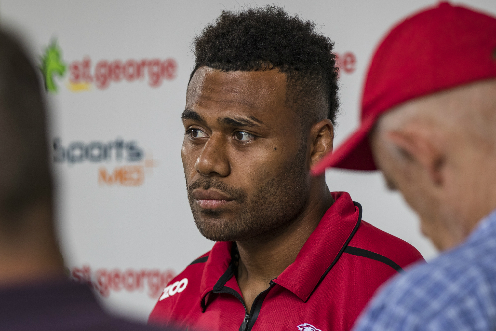 Samu Kerevi is edging closer to a new deal with the Reds. Photo: RUGBY.com.au/Stuart Walmsley