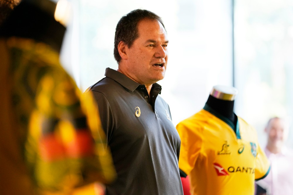 Dave Rennie says the Wallabies must keep the All Blacks to less than 16 points to win. Photo: Getty Images