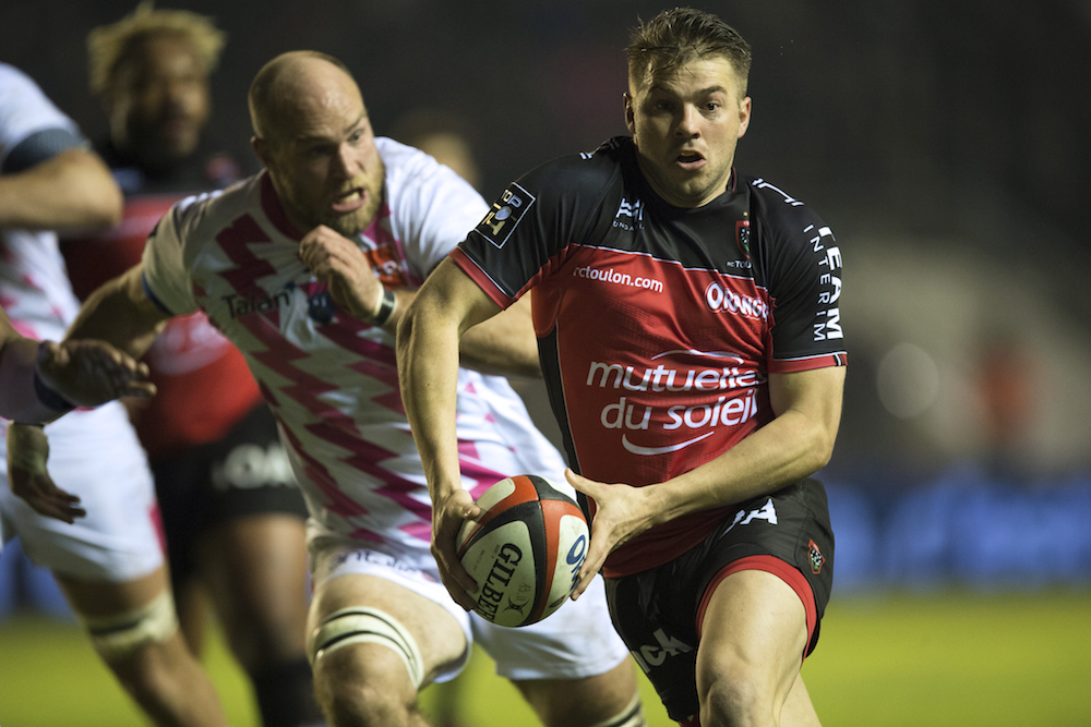 Drew Mitchell will line up for Toulon at the Brisbane Tens. Photo: AFP.
