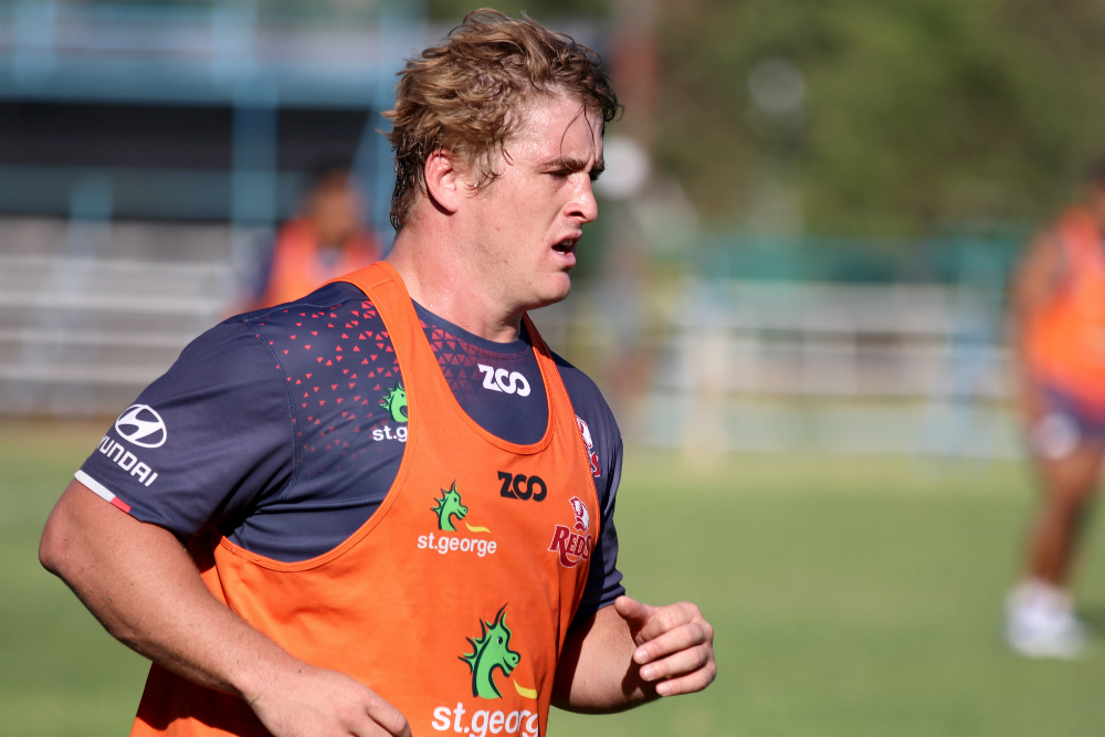 Andrew Ready has worked his way back into the Reds 23. Photo: QRU Media/Brendan Hertel