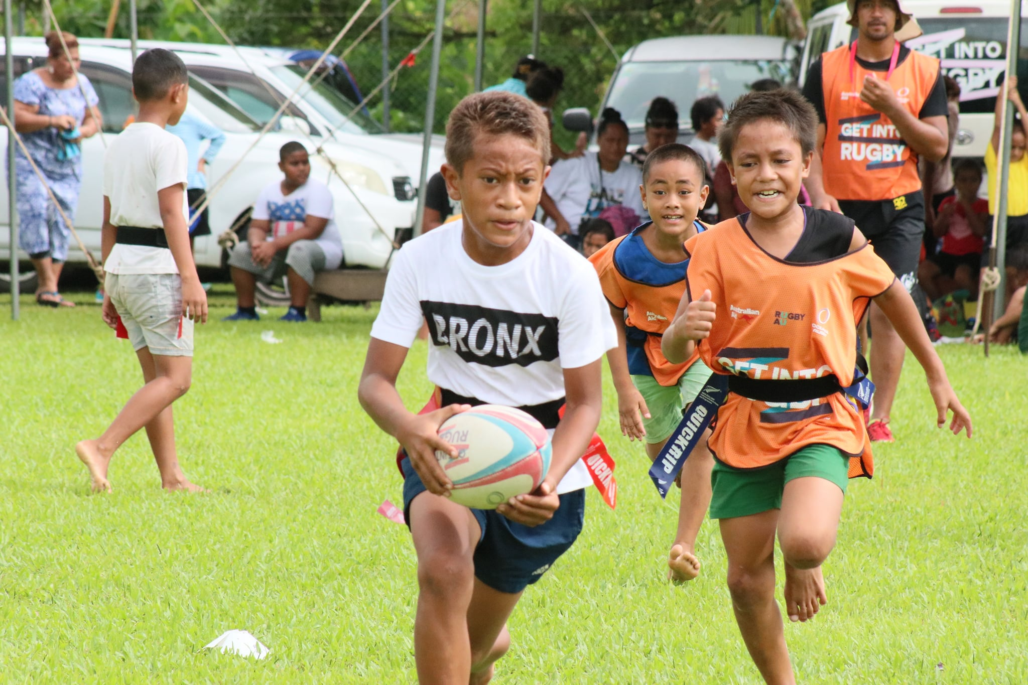 Faasaleleaga District Get Into Rugby Festival March 2021