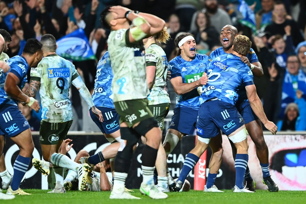 The Blues have won Super Rugby Trans-Tasman. Photo: Getty Images
