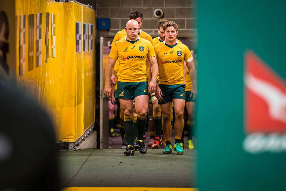 The Wallabies leaders have some work to do. Photo: ARU Media/Stu Walmsley