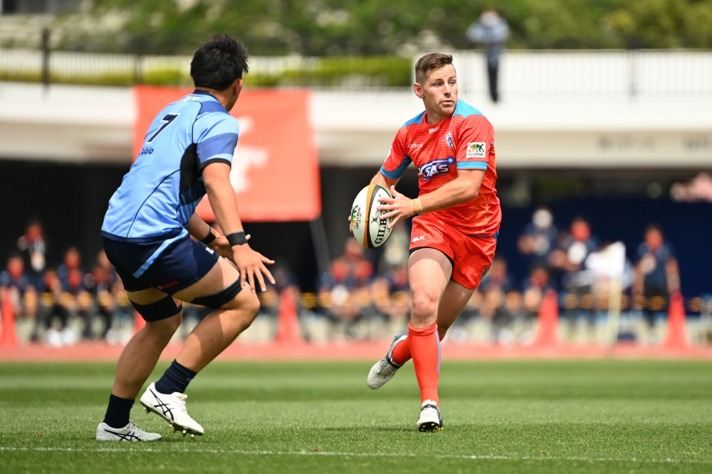 Bernard Foley was sent off in the quarter-finals for the Kubota Spears in Shizuoka. Photo: Getty Images