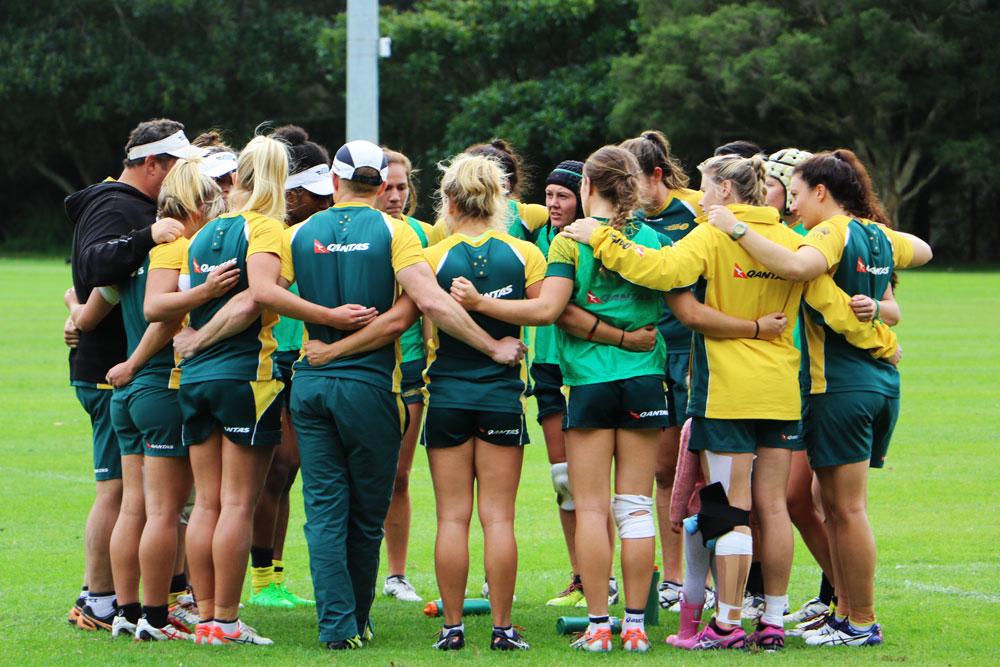 The Women's sevens are ready for Rio. Photo: ARU Media