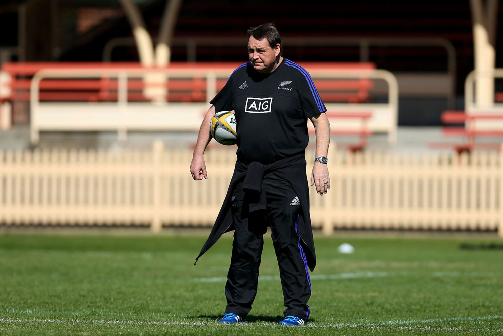 Steve Hansen just wants the facts. Photo: Getty Images