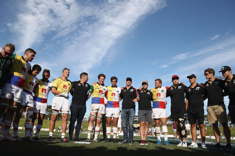 Disappointing end to a strong season. The Sydney Ray, formerly known as the Northern Rays surprising exit from the NRC race. Photo: Getty Images