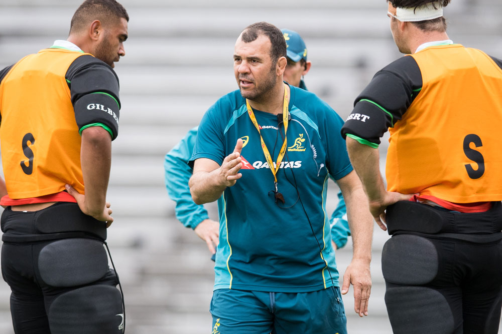Michael Cheika wants his players to bring the same thing every week. Photo : RUGBY.com.au/Stuart Walmsley