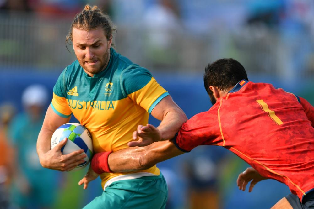 Lewis Holland tweaked a hamstring against Spain. Photo: AFP