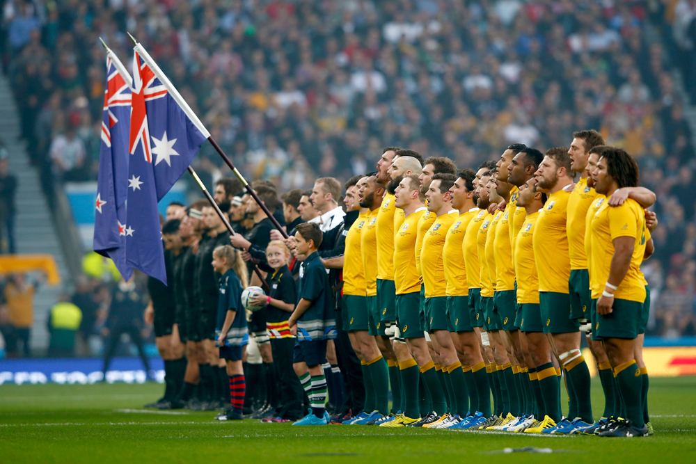 Rugby Australia interim CEO Rob Clarke says hosting the Rugby Championship will be like hosting a mini World Cup. Photo: Getty Images
