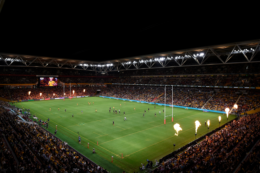 Suncorp Stadium has been a fortress for the Wallabies. Photo: Getty Images