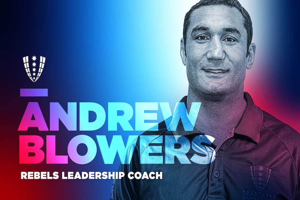 Andrew Blowers will join the Rebels in a key leadership role.