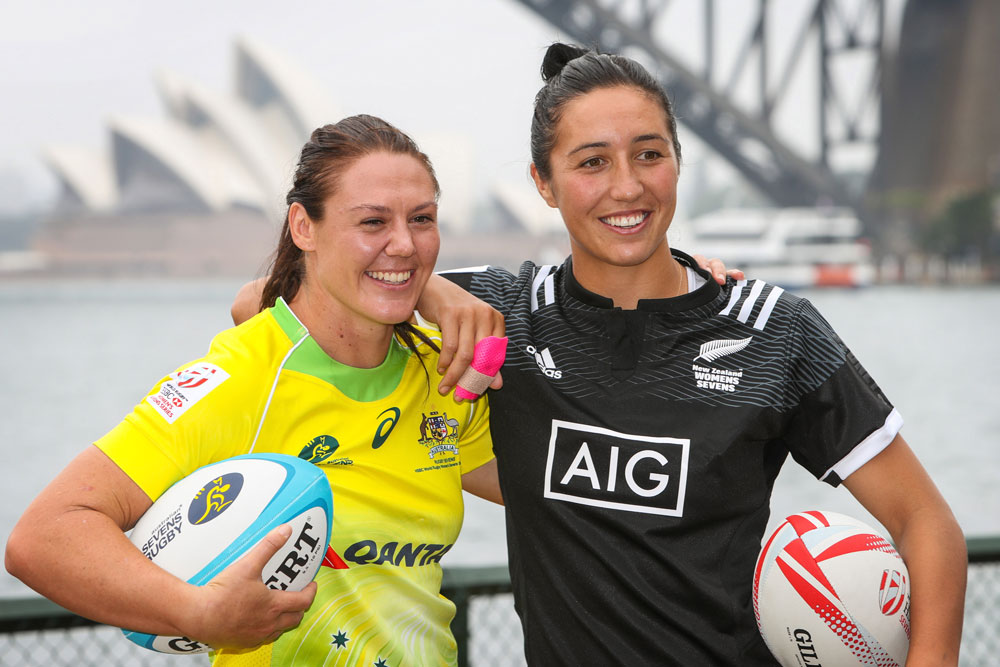 Sharni Williams and Sarah Goss will captain the two women's frontrunners. Photo: Getty Images