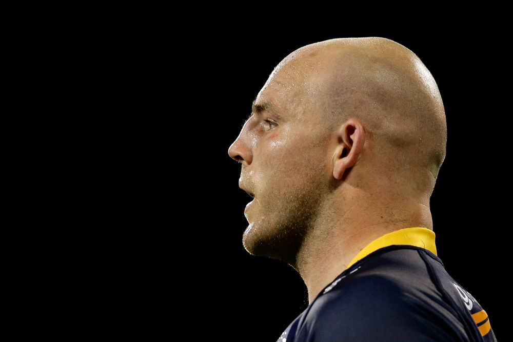 Stephen Moore was a standout for the Brumbies in round two
