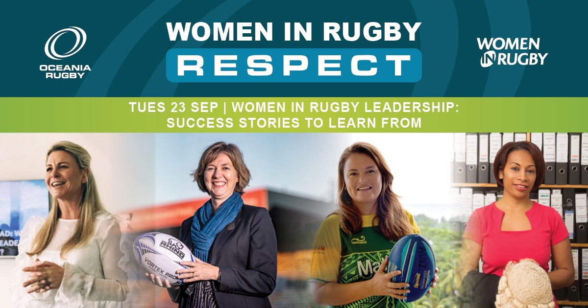 Women in Rugby: Webinar - Leadership ad