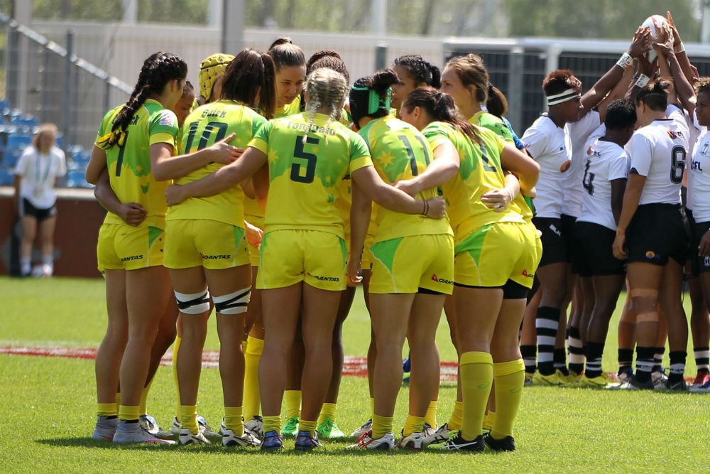 Australia has clinched the World Series title. Photo: World Rugby