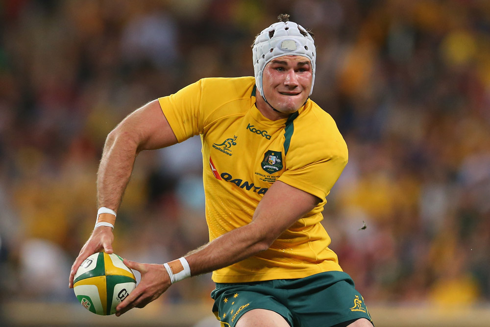 Ben Mowen captained the Wallabies six times. Photo: Getty Images