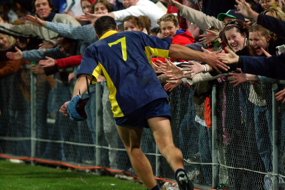 Romania celebrates following their 2003 World Cup win over Namibia. Photo: Getty Images