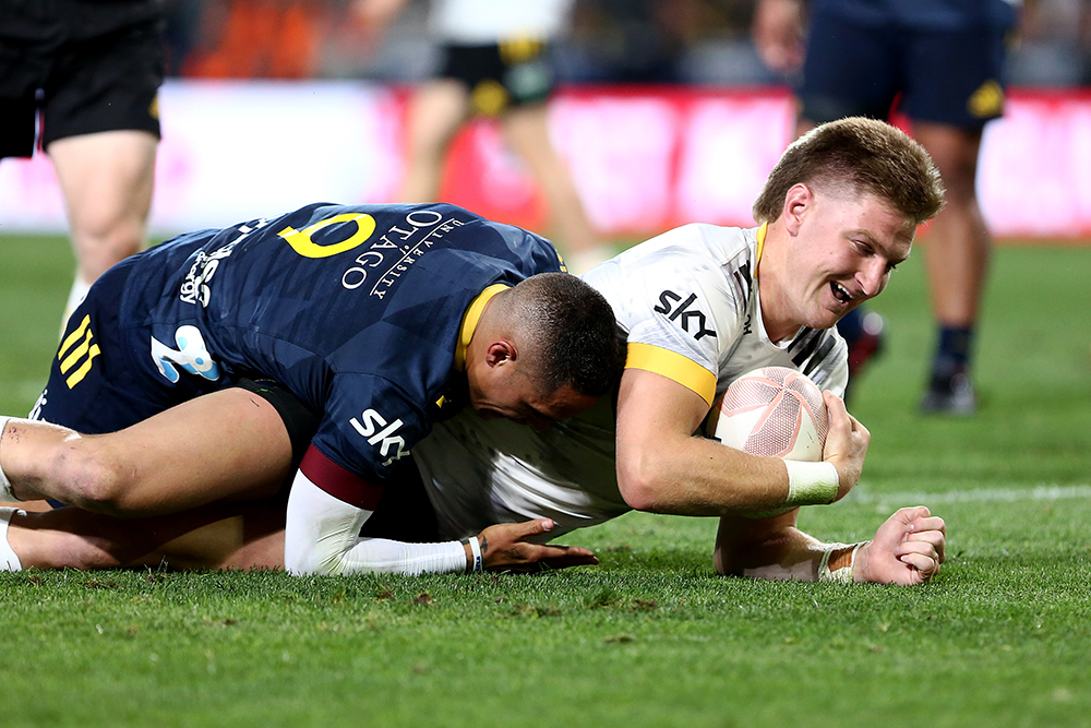 Jordie Barrett will be one of the players to watch ahead of Super Rugby Trans-Tasman. Photo: Getty Images