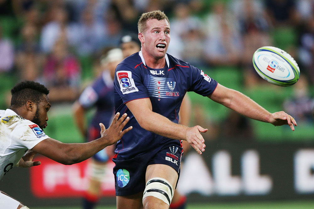 Angus Cottrell has re-signed with the Rebels until 2019. Photo: Getty Images