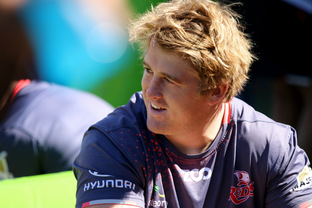 Andrew Ready has been named on the bench for the Reds for the first time this season. Photo: QRU Media/Tom Kennedy