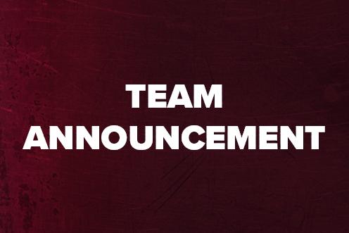 Team Announcement